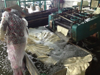Latex processing plant in vietnam